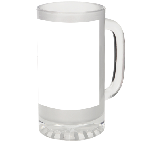 16oz Frosted Stein