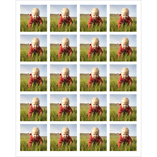 Set of 20 Photo Stickers